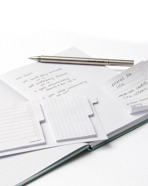 Mini Loop Adhesive Notes Binder Insert