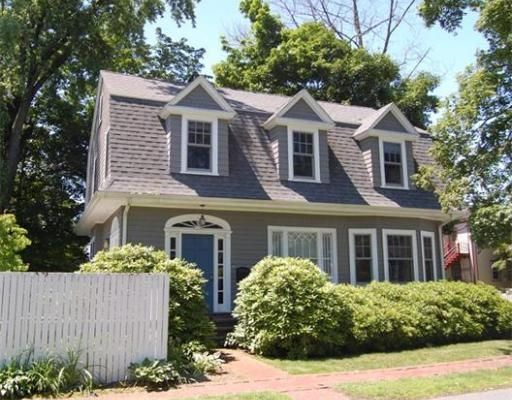 1910 Gambrel Colonial featured on This OId House #PBS #Lexington