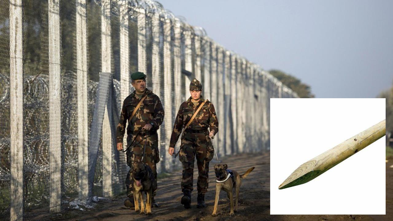 landzsaattack Hungary, Eastern europe, Border