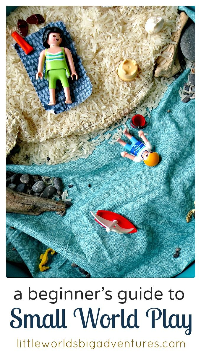 A Beginner's Guide to Small World Play | Everything you need and want to know about small world play: what it is, why it's so beneficial to children's development and how you can easily get started at home today. | Little Worlds Big Adventures #smallworldplay #raisingcreativekids #imagination #creativity #playmatters #parenting #play #kidsactivities #smallworlds #preschool #earlylearning