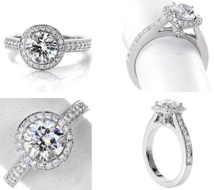 10 Unique engagement rings | Halo Engagement Ring | Knox Jewelers | Fab Mood