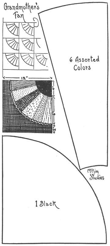 Fan 1 Quilt Block