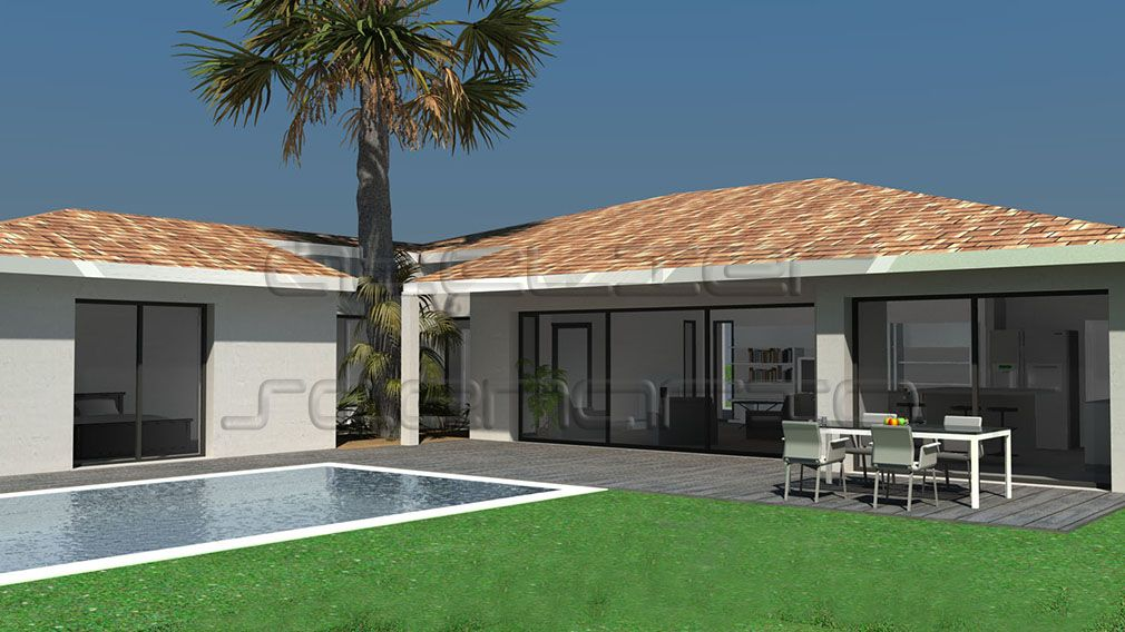 Téléchargez nos plans de maisons d\u0027architecte à toit tuiles  Opter