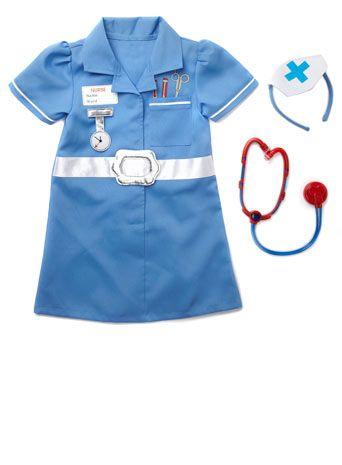 44c4a76abf62c Little girl nurses fancy dress | Ideas for Mommies | Nurse fancy ...