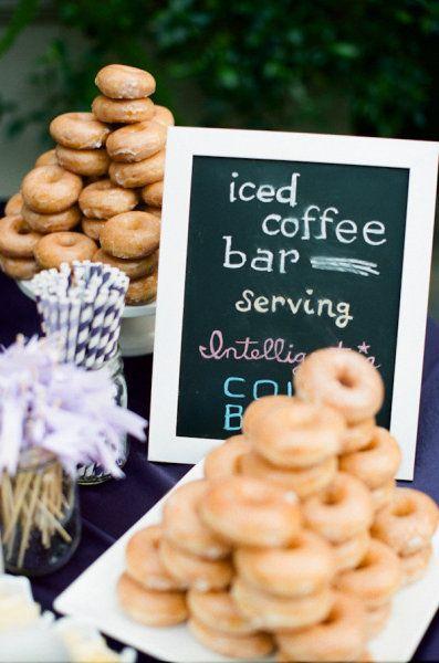 Iced coffee bar