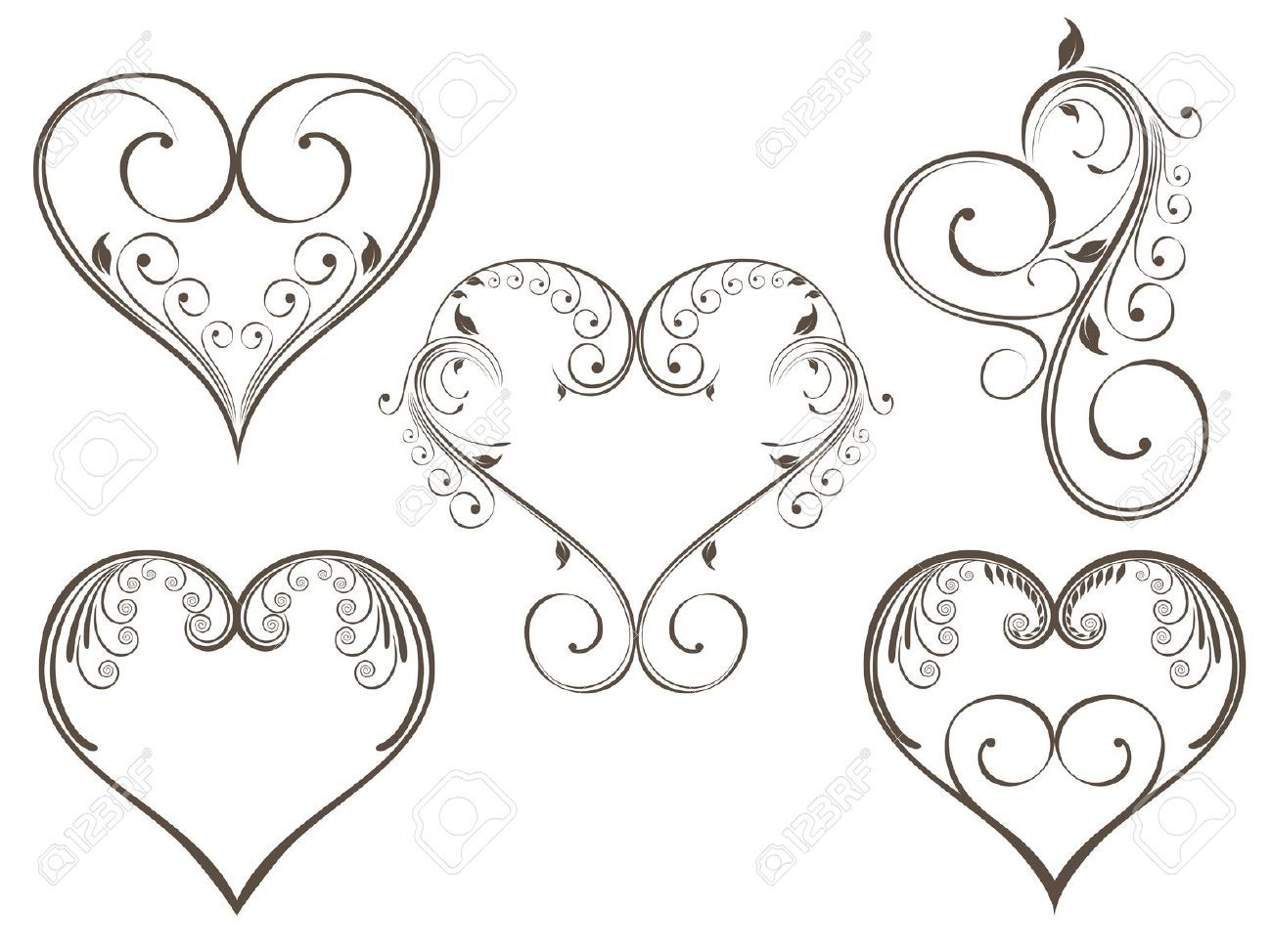 heart designs to color google search zentangles pinterest