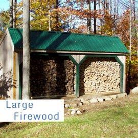 Firewood Shed Kits | Firewood Storage Sheds for Sale ...
