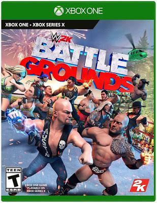 New Games Wwe 2k Battlegrounds Pc Ps4 Xbox One Switch Wwe 2k Wwe Xbox One Games