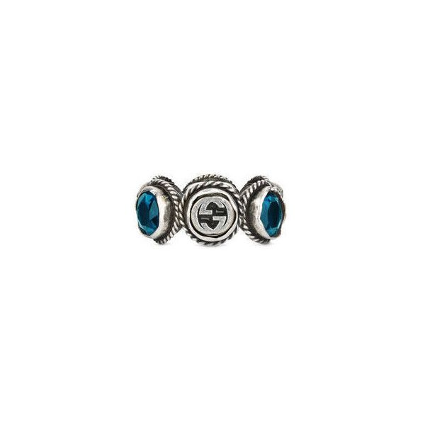 bac90849f Gucci Ring With Swarovski Crystals ($235) ❤ liked on Polyvore featuring  jewelry, rings, swarovski crystal jewelry, swarovski crystals jewelry,  swarovski ...