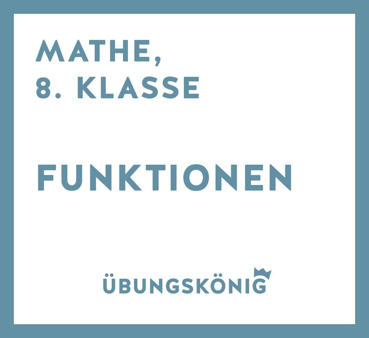 13 kostenlose Arbeitsblätter und Übungen als PDF zu den Funktionen ...