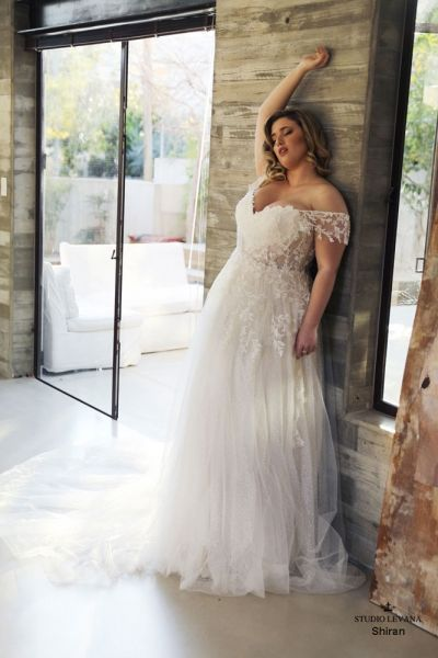 Photo of Sleeves plus size wedding dresses with sleeves no train