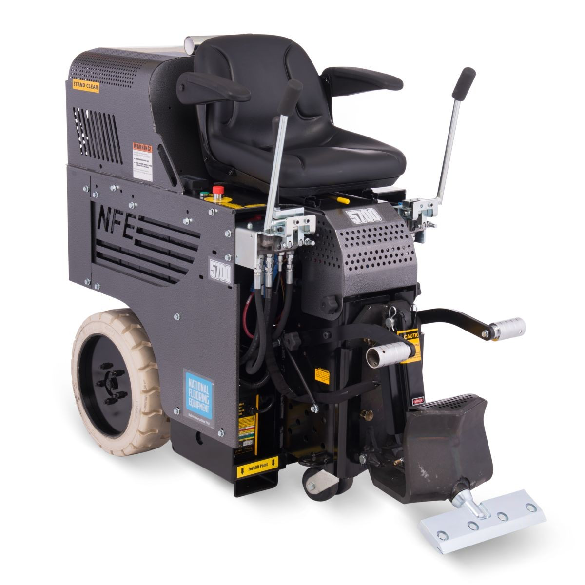 National 5700 All Day Battery Ride On Floor Removal Machine Lawn Mower Mower Push Lawn Mower
