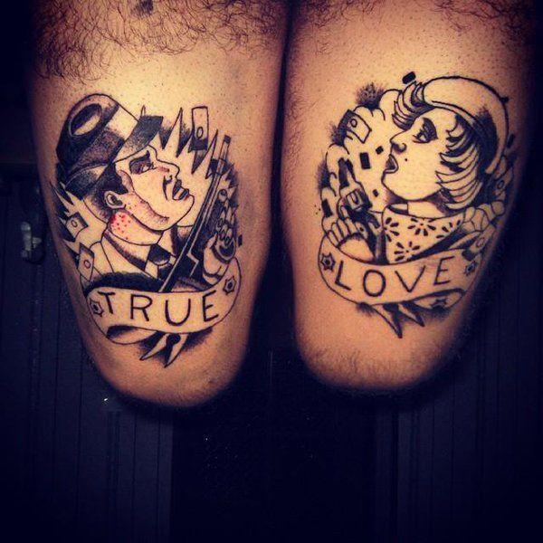 Bonnie And Clyde Tattoo Designs Wwwpicswecom