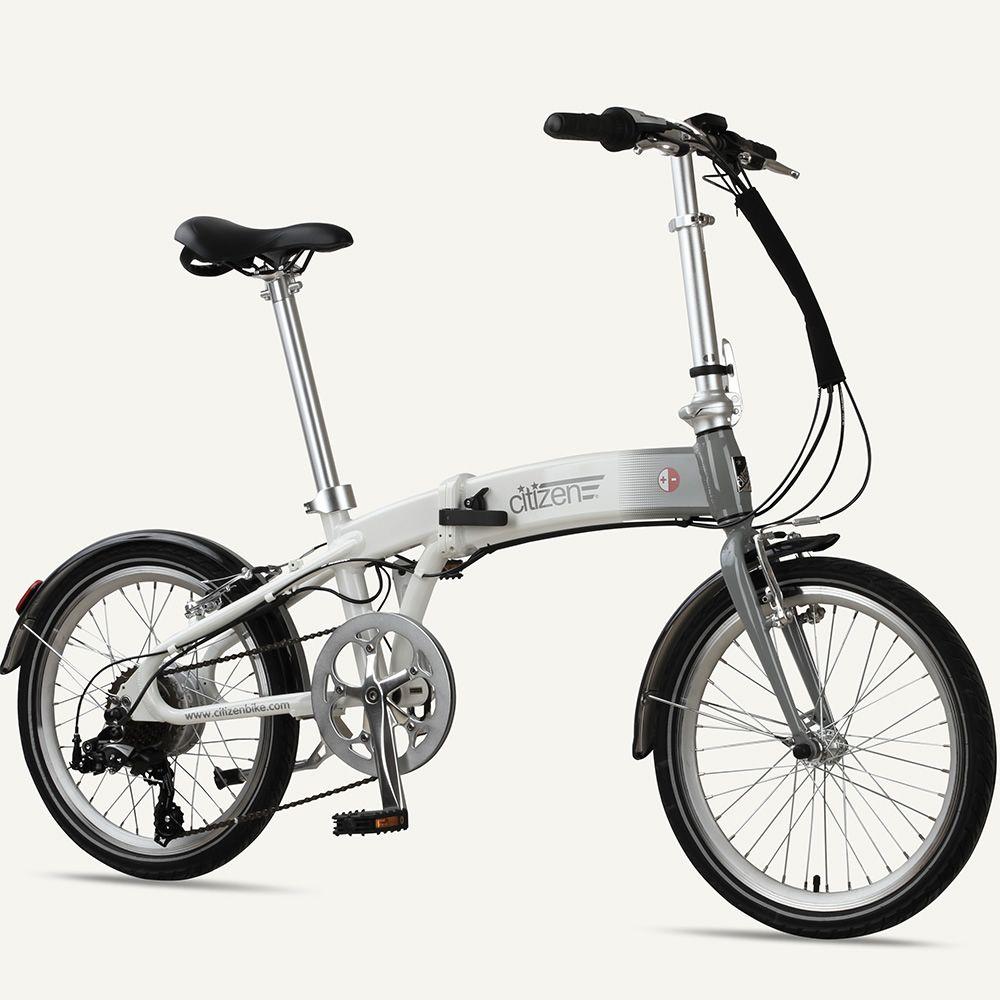 Frisco Citizen E Bike 20 7 Speed Folding Electric Bike Cycling