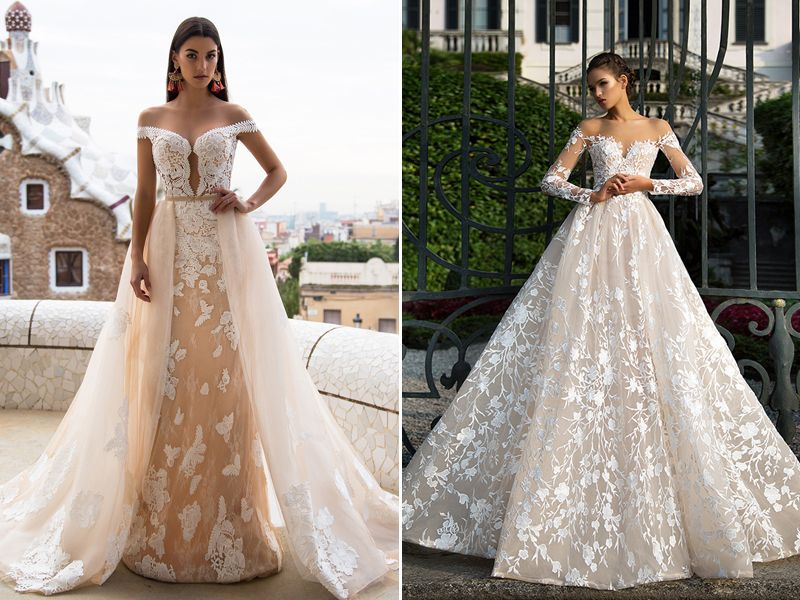 36 Utterly Romantic Off-The-Shoulder Wedding Dresses You Must See ...