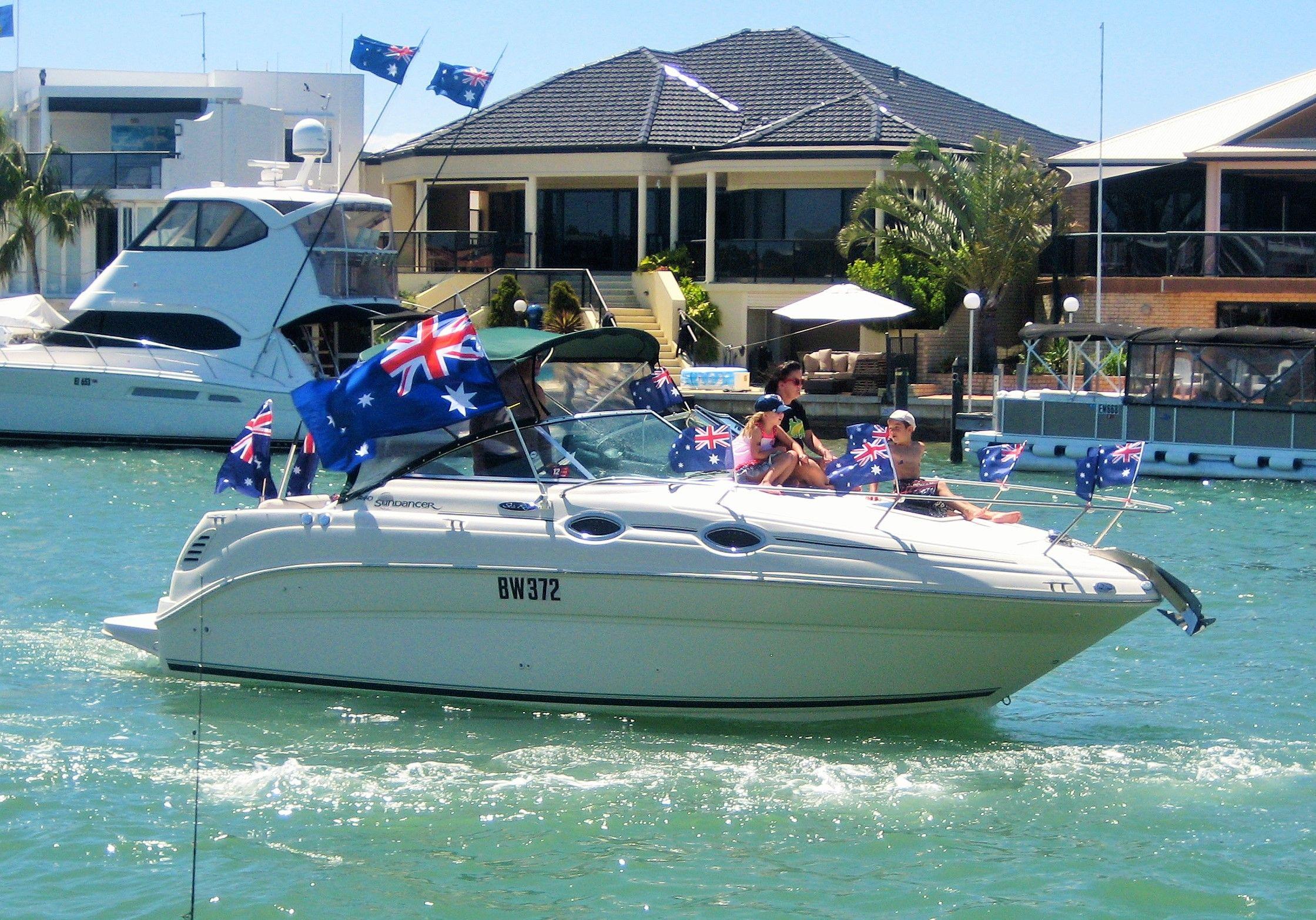 Australia Day 2014 at Port Sails Canal Villa, Mandurah Accommodation