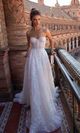 Berta 18-104 Wedding Dress | Used, Size: 4, $3,500