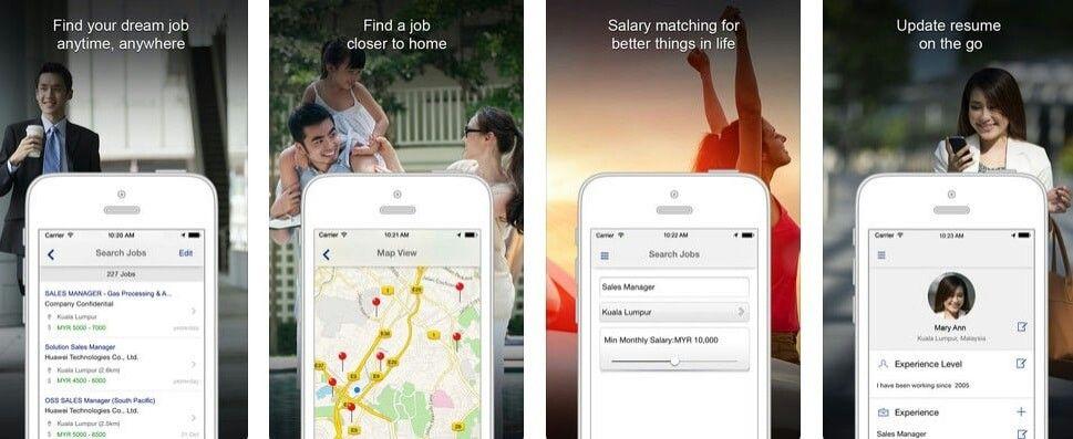 Mana yang lebih baik, mencari kerja melalui aplikasi