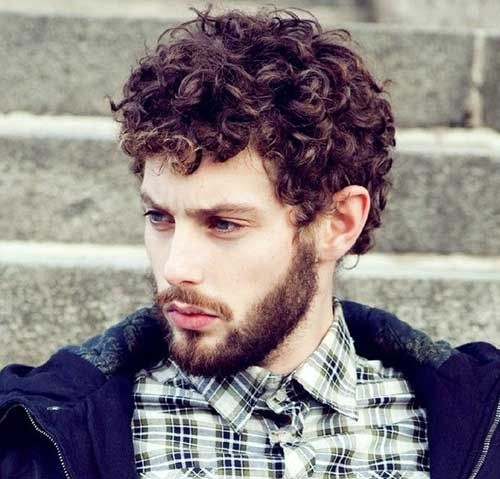 30 curly mens hairstyles 2014 2015 curly men hairstyles hair pinterest locken m nner. Black Bedroom Furniture Sets. Home Design Ideas