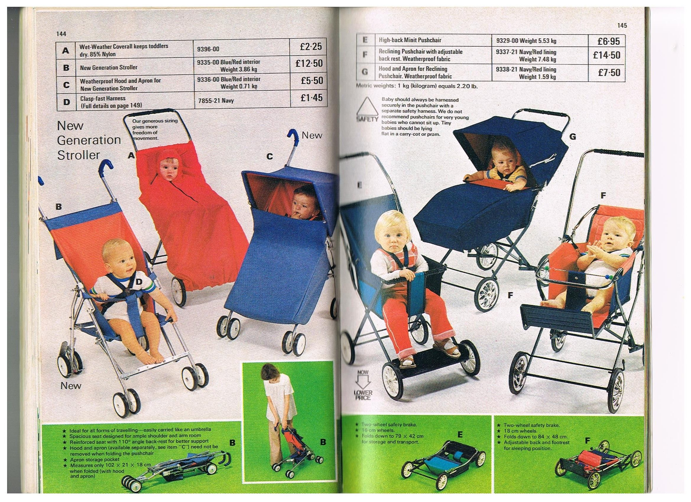 I collect vintage Mothercare clothes. This is a scan from