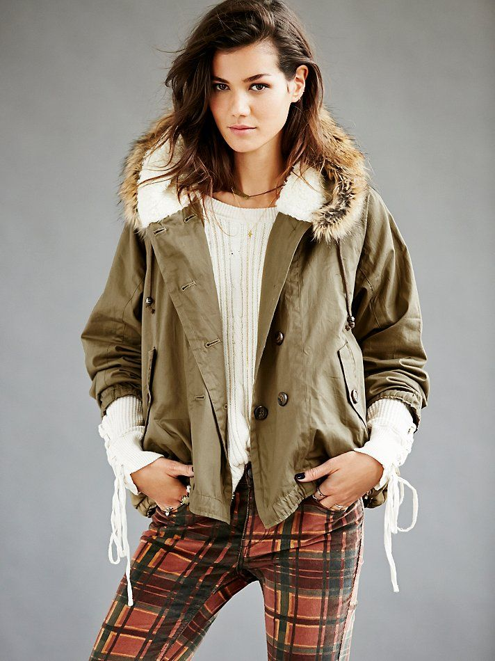 Free People Keep Me Warm Hooded Parka, http://www.freepeople.co.uk/whats-new/fur-hooded-short-parka/_/CMPAGEID/Cat%3A%20what%5C%27s%20new/