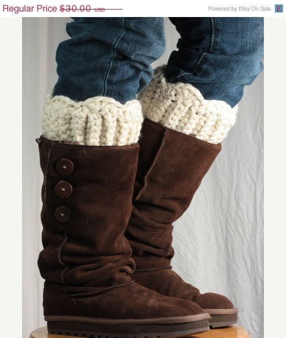 On Sale Custom fit Boot cuff boot topper by ChocolateDogStudio, $24.00