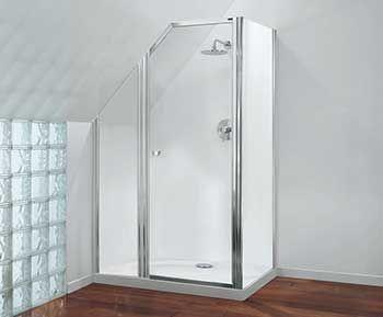 Bespoke Shower Bespoke Shower Enclosures By Coram Shower Enclosure Attic Shower Bathroom Inspiration