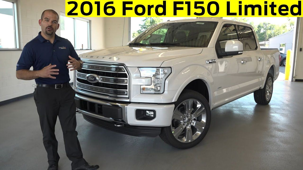 2016 Ford F150 Limited Exterior & Interior Details