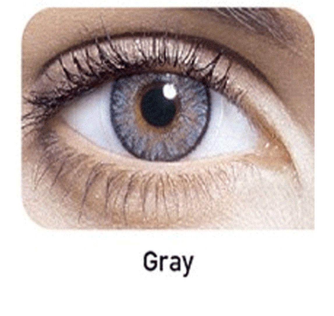 Gray in 2019 | Contact lens | Prescription colored ...