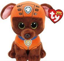 Paw Patrol Beanie Boos TY Zuma Plush Toy  aa9f560c9d5d