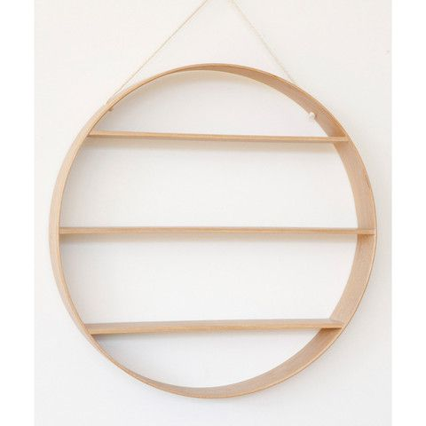 Nice SHELF | Circle In Natural Oak By Bride + Wolfe Nice Look