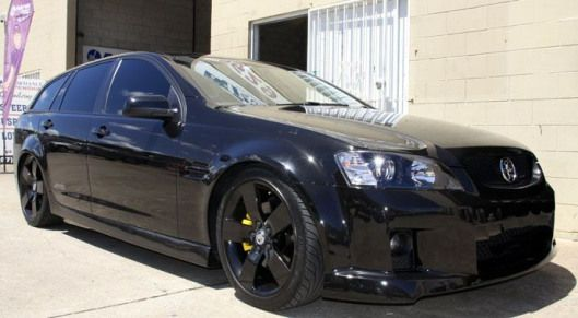 VE Holden Commodore Wagon Lowered with XYZ Coilovers