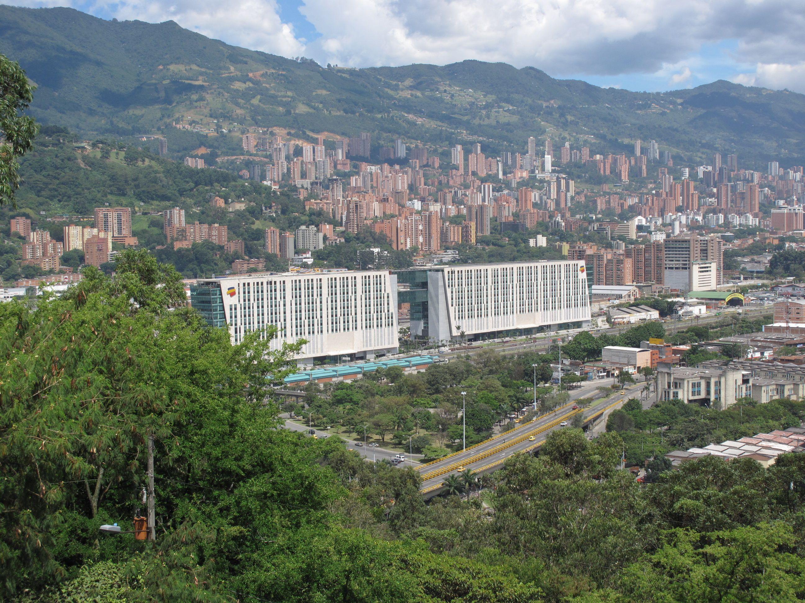 Sede de Bancolombia en #Medellín