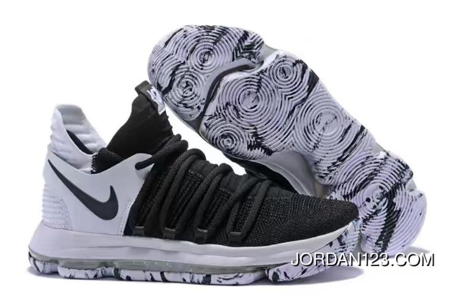 768cb0b591b Nike KD 10. Nike KD 10 White Basketball Shoes ...