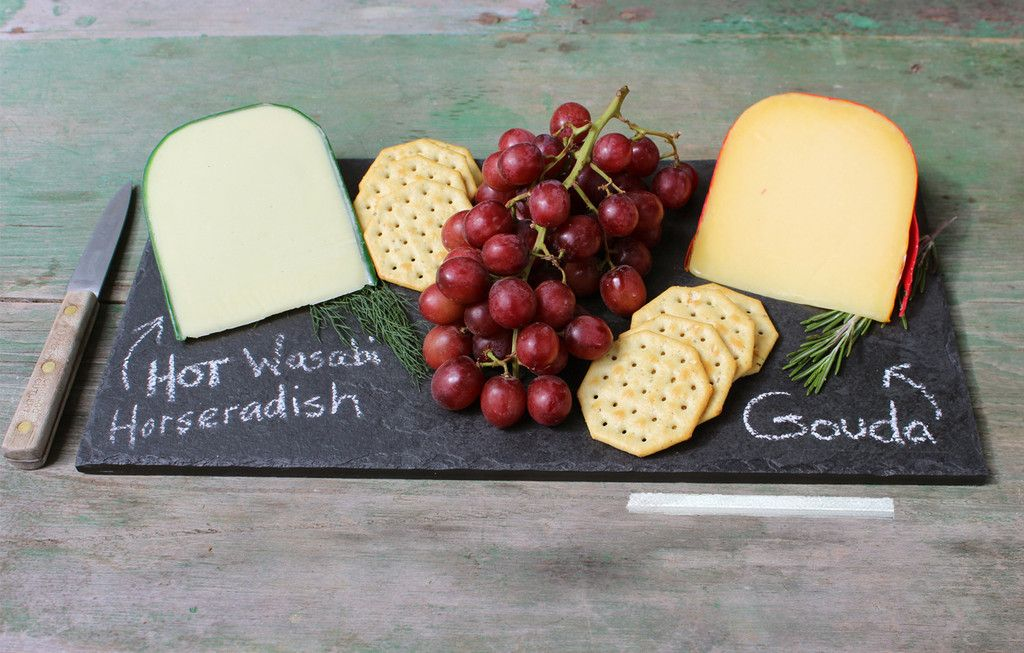 Slate Cheese Plates - Black or Grey - Assorted Sizes