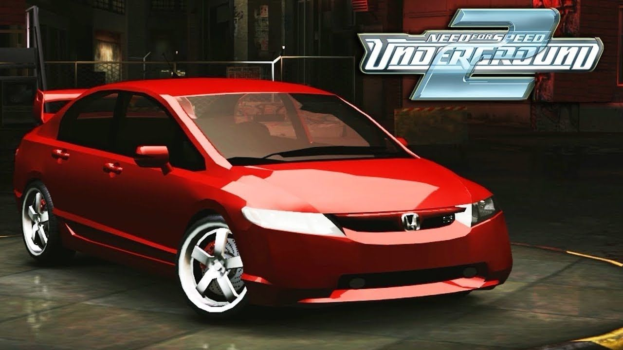 Honda Civic Sprint Need For Speed Underground 2 Gameplay