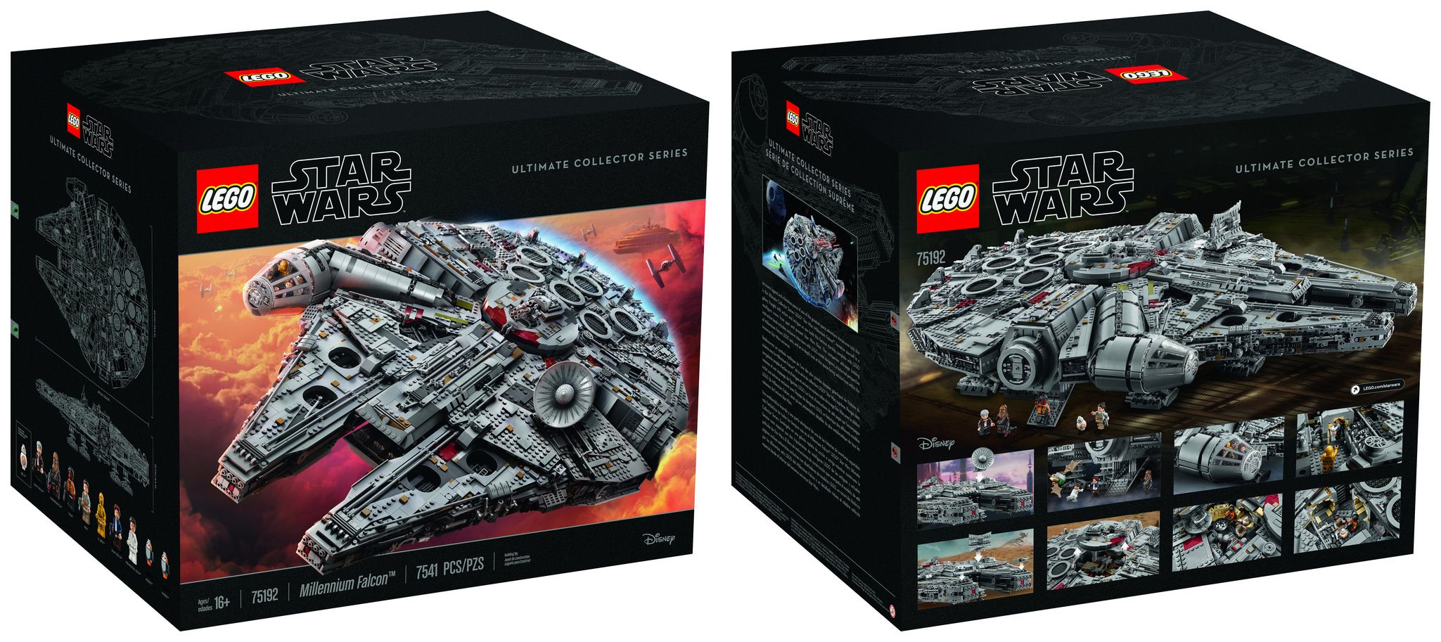 This 7 541 Piece Millennium Falcon Is The Largest Most Desirable