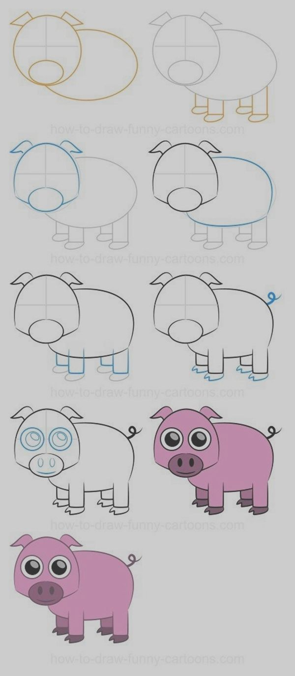 40 Easy Step By Step Art Drawings To Practice | drawing | Pinterest ...