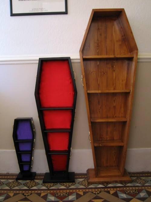 Coffin Bookcases