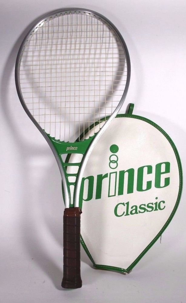 Prince Tennis Racket 923 4 3 4 Leather Hand Grip With Cover Prince With Images Prince Tennis Prince Tennis Racket Tennis Racket