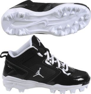 Jordan Black Cat Molded Baseball Cleat