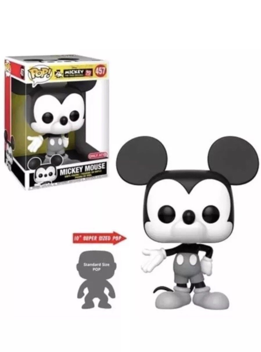 Funko Pop Disney Mickey Mouse 457 10 Inch 90th Target Funko Pop Disney Funko Pop Dolls Disney Pop