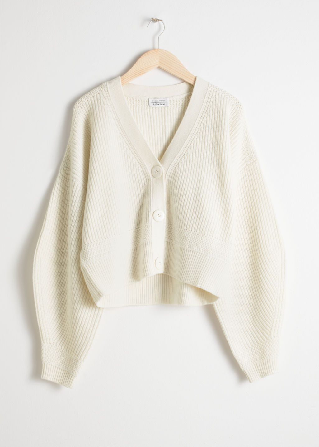 Zippered Rib Knit Turtleneck | Cropped cardigan, Cardigan