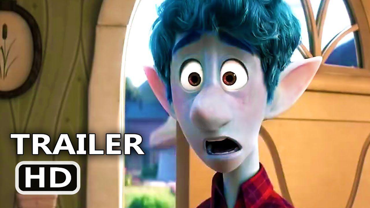 Onward Officila Trailer 2020 New Pixar Anuimation Movie Hd Youtube