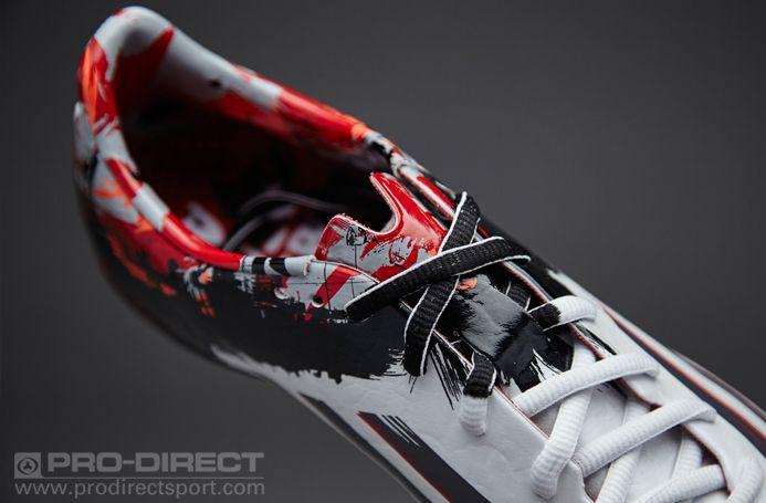 ae2b9aea60d adidas Messi Pibe De Barr10 10.1 FG - White Granite Scarlet