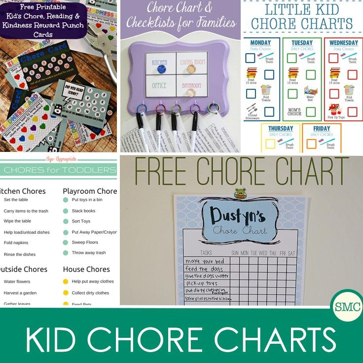 34 of the Greatest Printable Chore Charts for Kids Weu0027ve Ever Seen! - chore list template