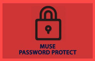Free Muse Password Protect | Adobe Muse | Adobe muse, Muse