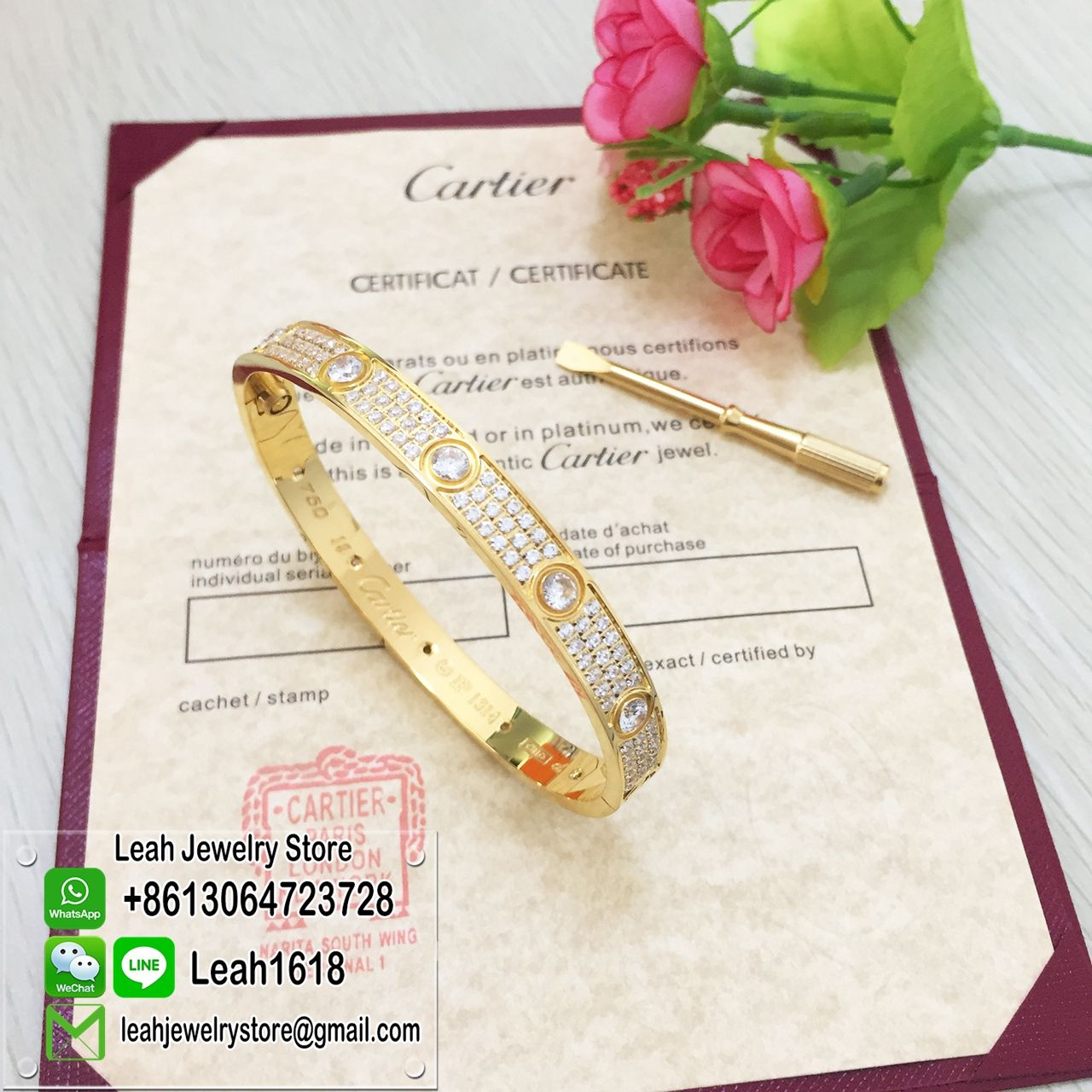 Cartier LOVE Bracelet And Ring In Ourcartierstore