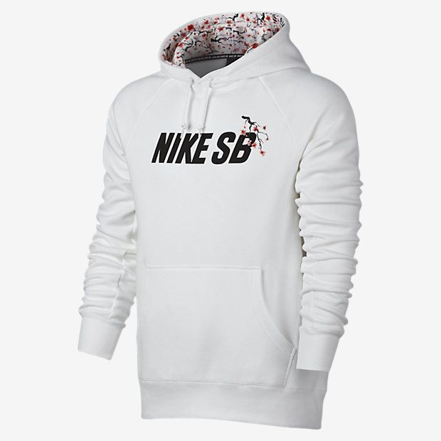 Nike SB Icon Cherry Blossom Pullover Mens Hoodie Hooded