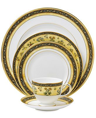 Wedgwood India Collection Tea Cups Dinnerware Fine China
